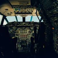 Concorde cockpit - Cory Wright