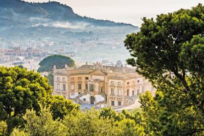 Villa Valguarnera, Sicily