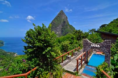 Ladera Hotel, St Lucia