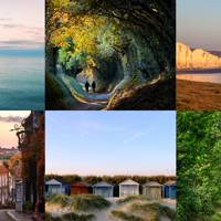 2. East and West Sussex, England