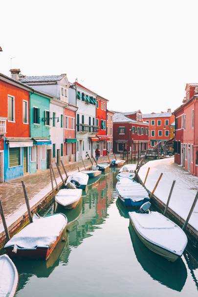 6. Burano in winter