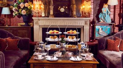 Afternoon tea at The Zetter Townhouse, Clerkenwell