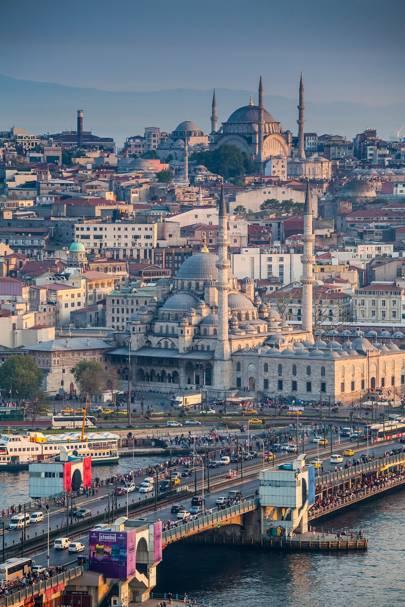Galatal Bridge, Istanbul, Turkey