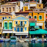 Harbourside in Symi