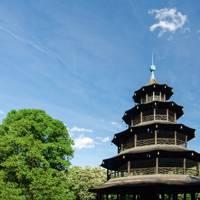 Chinesischer Turm in Englischer Gartens