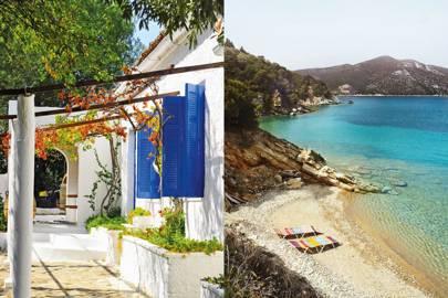 Silver Island Yoga, Gulf of Volos, Greece