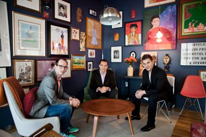 BRIAN CHESKY, JOE GEBBIA, NATHAN BLECHARCZYK