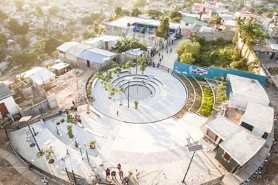 Haiti's community amphitheatre
