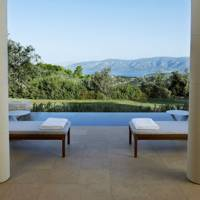 View from Amanzoe, Porto Heli