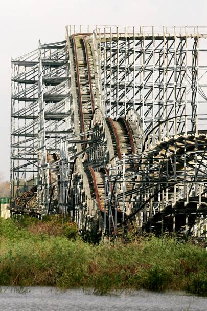 Six Flags (formerly Jazzland), New Orleans, USA