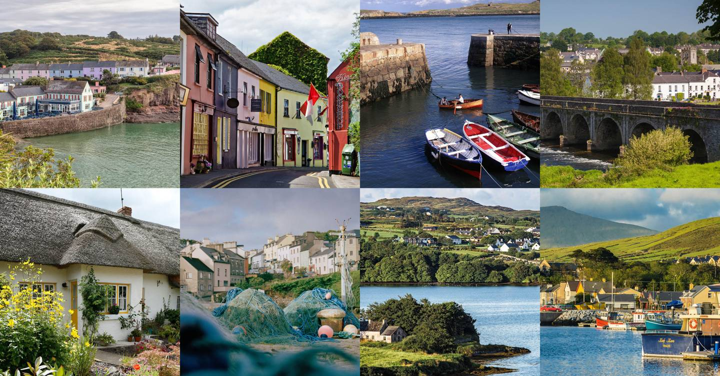 12 of the most beautiful villages and small towns in Ireland