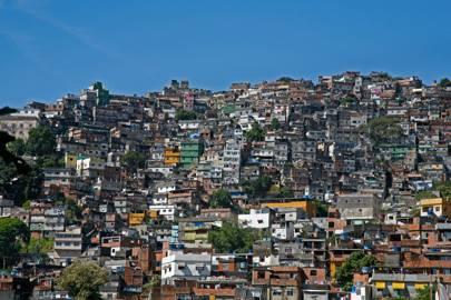 The favelas of Rio de Janeiro