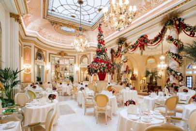 Christmas afternoon tea at The Ritz
