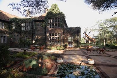 20. Giraffe Manor, Nairobi, Kenya. Score 78.54