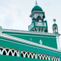 The mosque of Stone Town, Mozambique