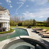 A stately home in the Hamptons