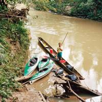 Canoeing on the Shiripuno