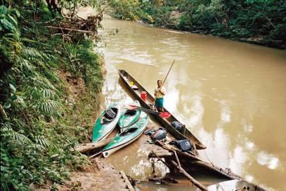 Canoeing on the Shiripuno