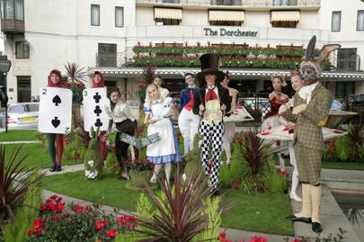 The Dorchester Has Come Up With A Unique Treat For Pas And Children To Celebrate 150th Anniversary Of Alice In Wonderland This Year