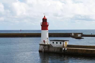 Pointe de la Torche beach in Finistère, Brittany
