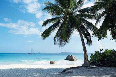The island of Praslin