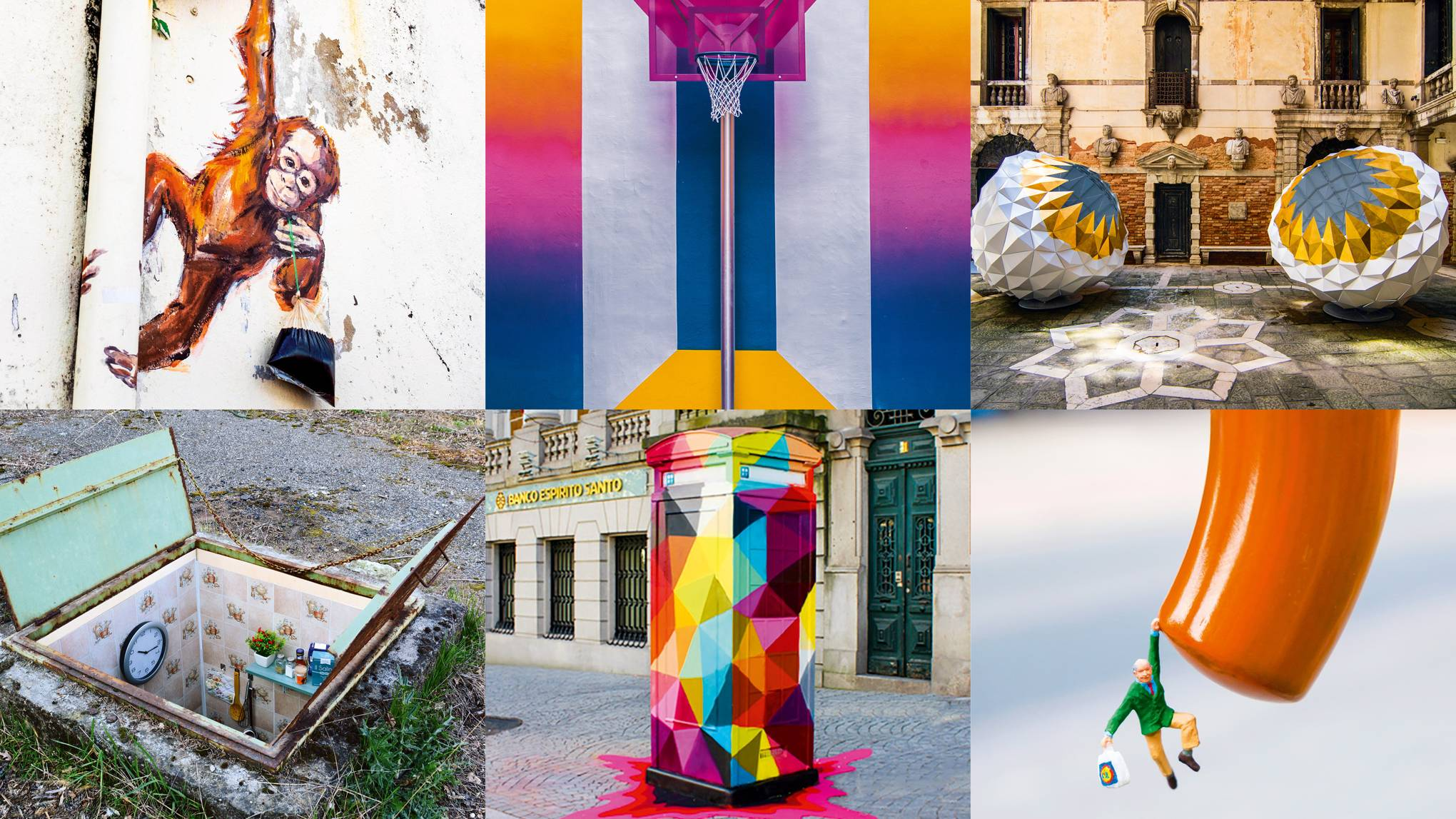 These are the coolest street art illusions from around the world
