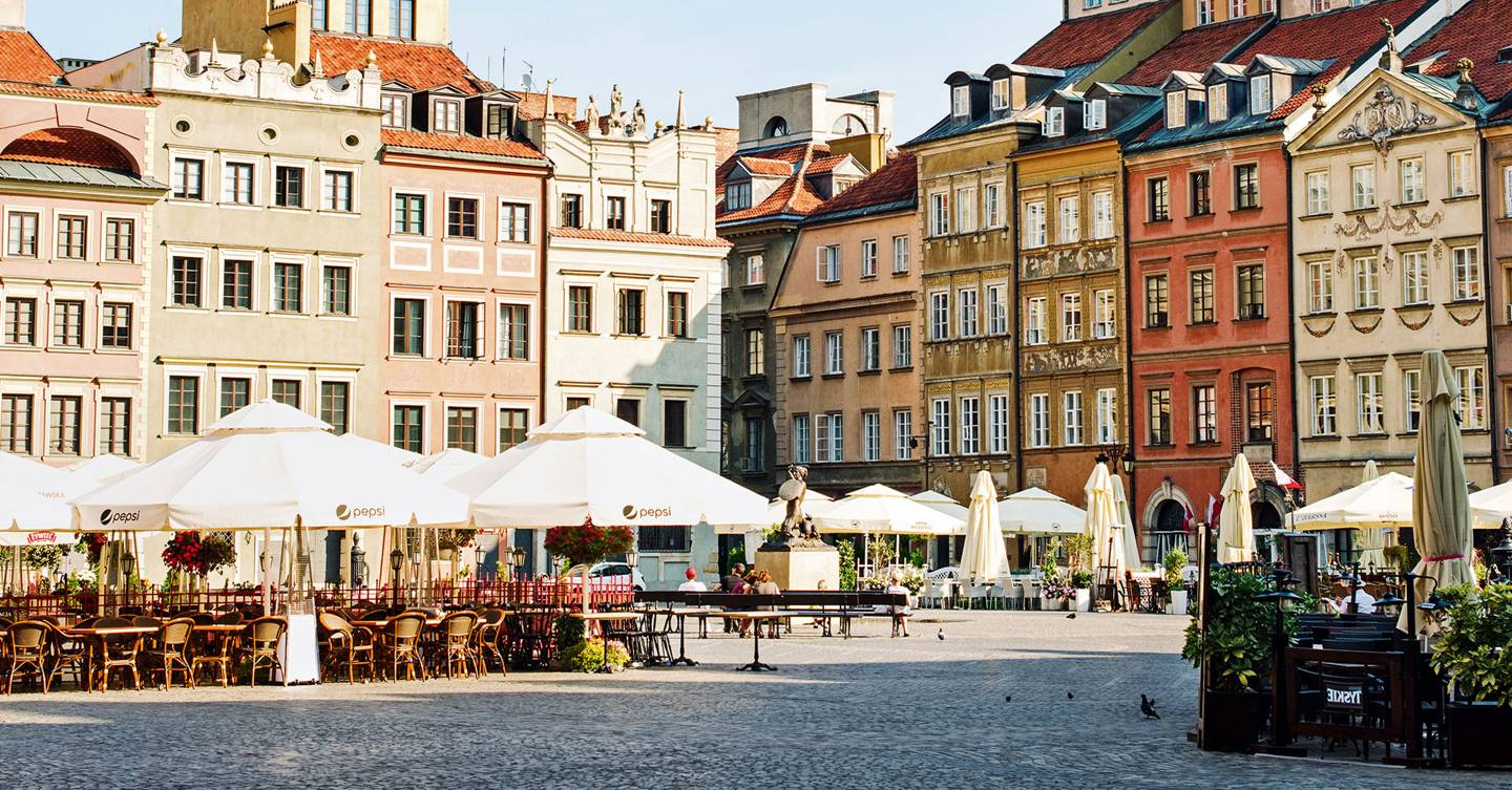 Cool things to do in Warsaw