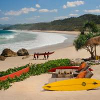 The Sumba surf scene