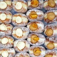 Doughnut making at Bread Ahead