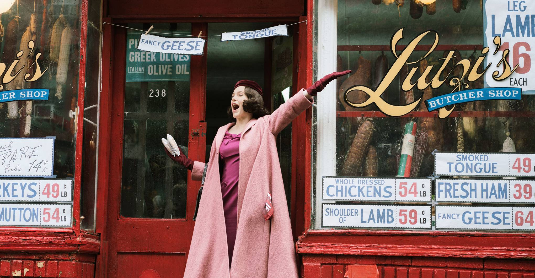 Where is 'The Marvelous Mrs Maisel' filmed?