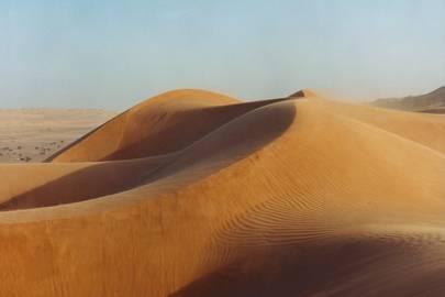 Sand dune safari in Wahiba Sands