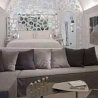 Master bedroom at The Villa at Grace Santorini