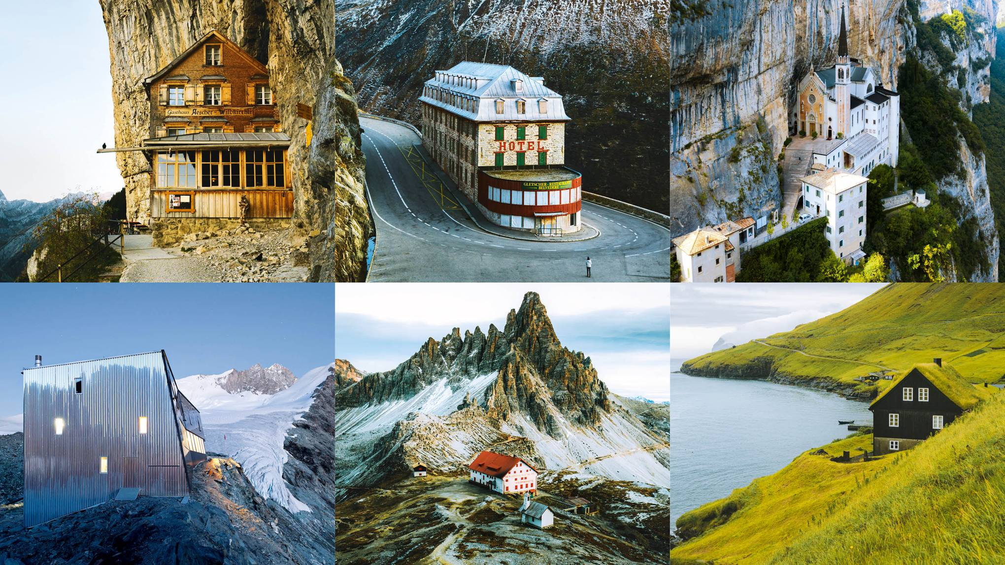 Set in stone: our favourite mountain architecture