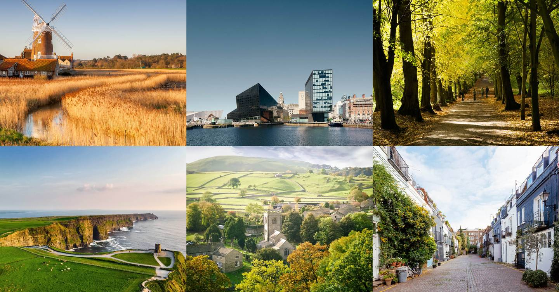 The loveliest corners of the UK and Ireland – according to celebrities