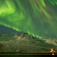 Solar storm, Iceland