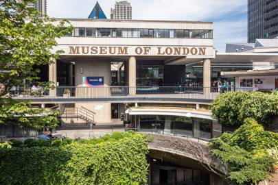MUSEUM OF LONDON, BARBICAN