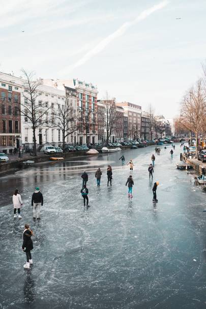 Keizersgracht in winter