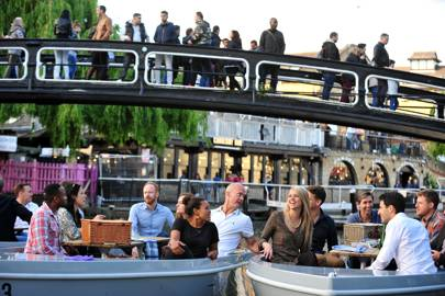 Hire a boat to explore London's canals