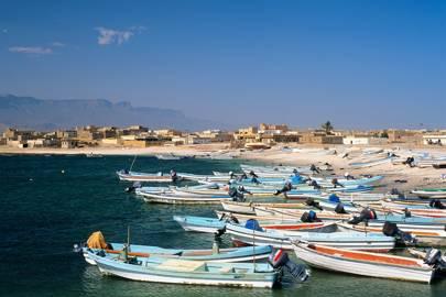 Azzura catamaran, Oman