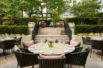 On The Terrace at Four Seasons Hotel London at Park Lane
