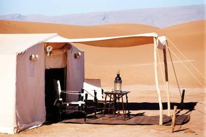 Dar Ahlam tented camp, Sahara Desert