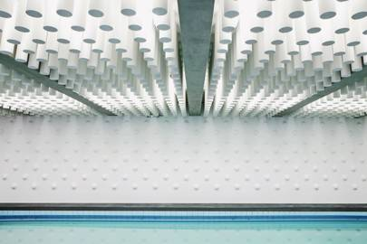 Atlas Sports Centre swimming pool, Paris, France