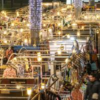 Ongoing: Get your Christmas shopping done at Spitalfields Market