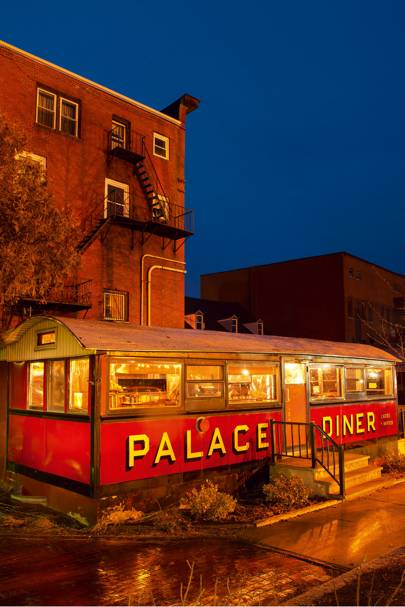 Palace Diner, Biddeford near Portland, Maine