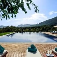Castell Son Claret pool, Mallorca