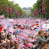 The Mall at the Queen's Diamond Jubilee Celebrations, London