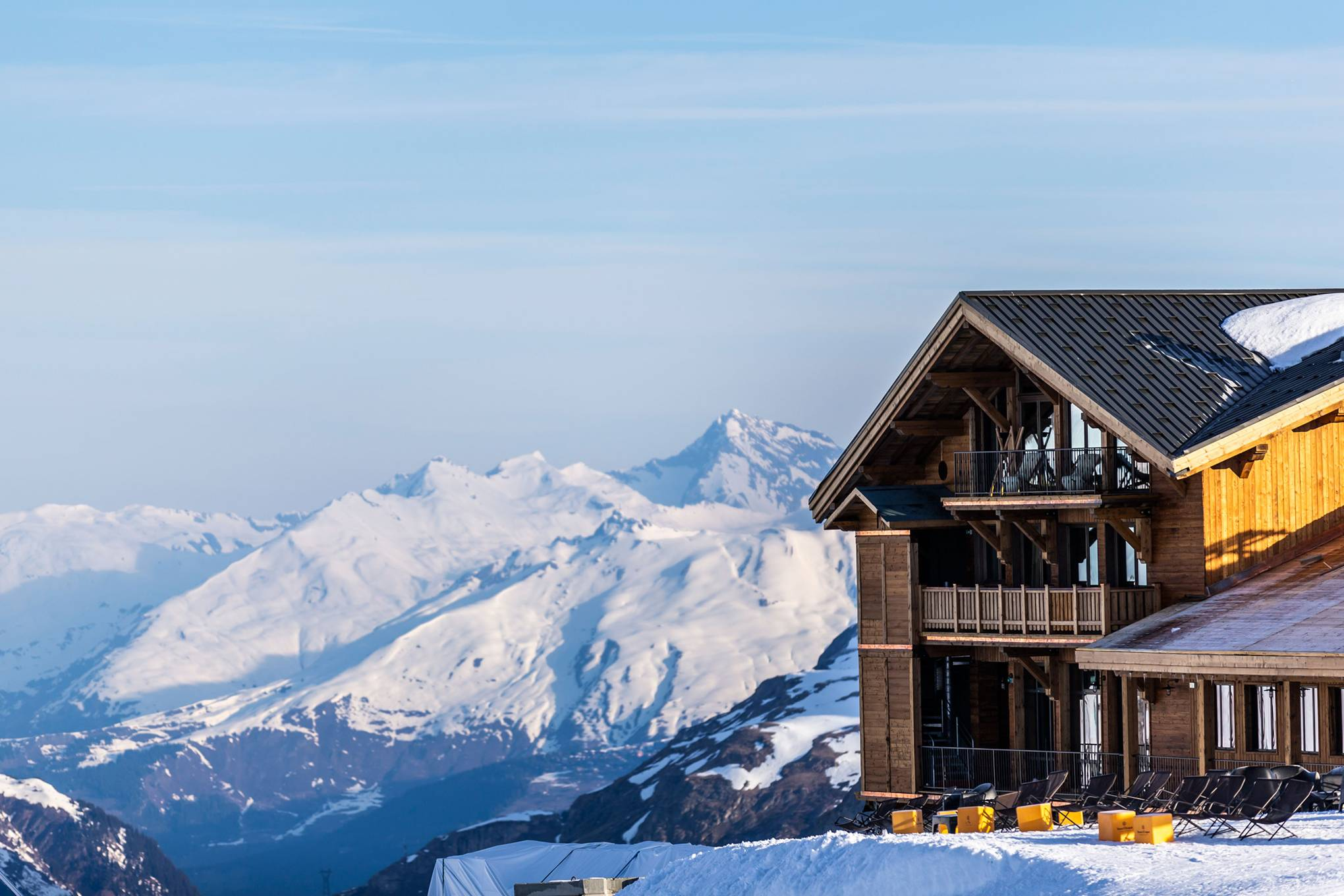 Le Refuge de Solaise: contemporary Alpine chic in France's highest hotel