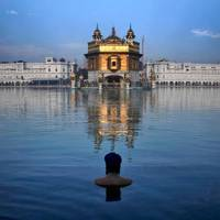 The Golden Temple in Amritsar, India