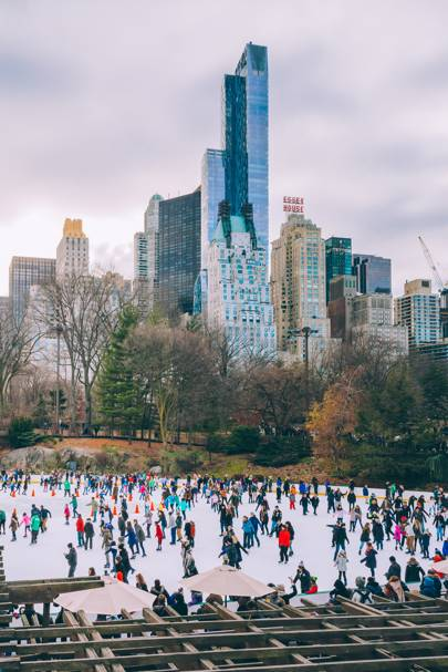 25. Ice-skating rink, Central Park