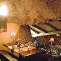 La Grotte restaurant at Domaine du Murtoli